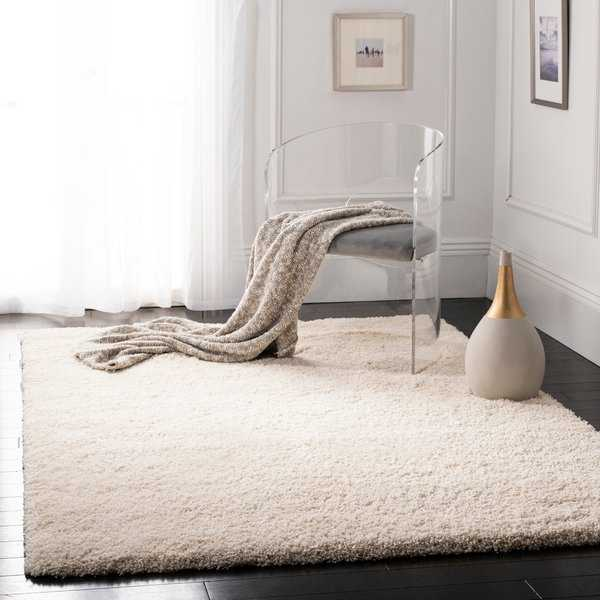 Safavieh California Cozy Plush Ivory Shag Rug - 9'6' x 13'
