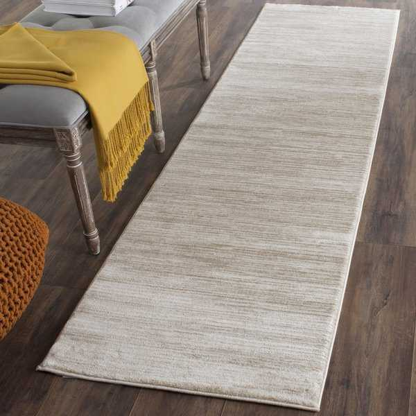 Safavieh Vision Contemporary Tonal Cream Runner Rug - 2'2' x 8'