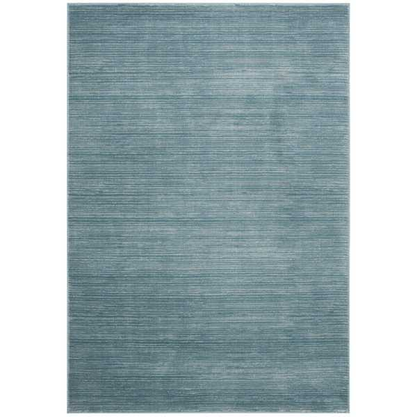 Safavieh Vision Contemporary Tonal Aqua Blue Area Rug - 3' x 5'